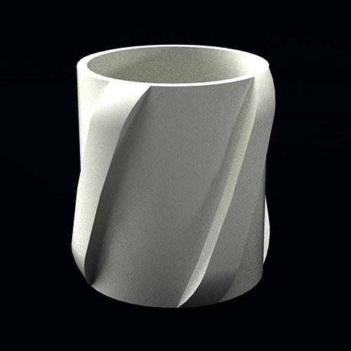 Spiral Vane Thermoplast