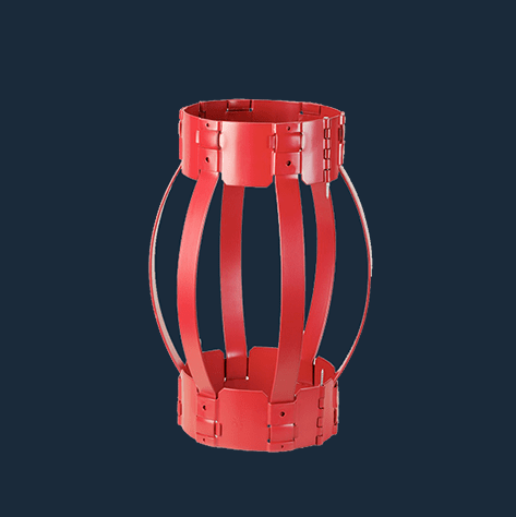 hinged non weld bow spring centralizer