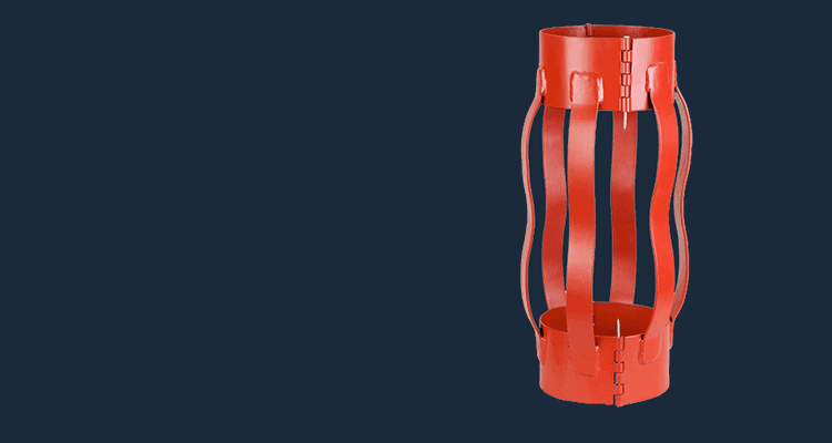 hinged welded Semi-Rigid centralizer